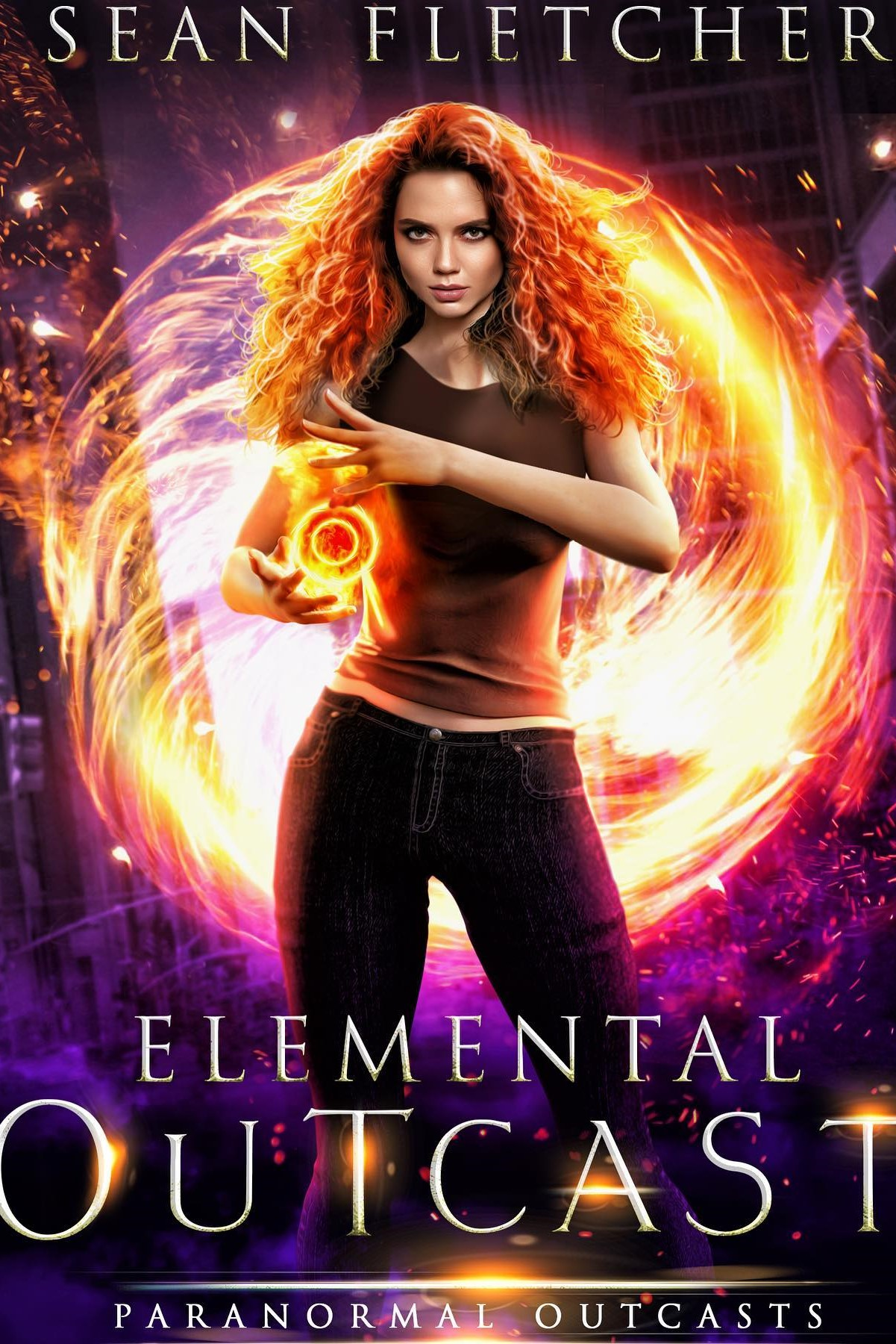 Elemental Outcast (Paranormal Outcasts Book 1) – Sean Fletcher