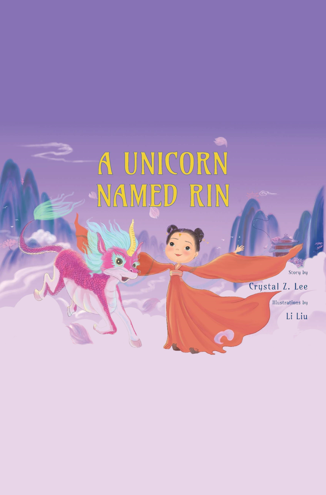[Book Tour] A Unicorn Named Rin – Crystal Z. Lee
